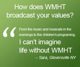 Learn more about the value of PBS and WMHT